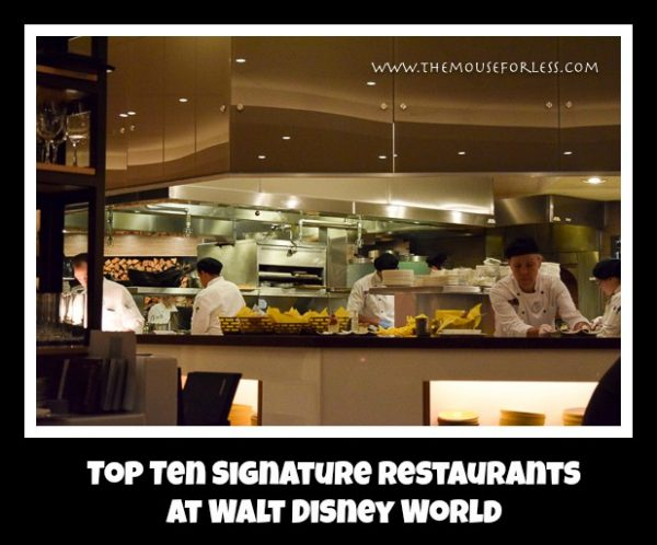 Signature Restaurants Top 10