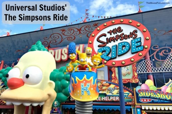The Simpsons Ride | Universal Studios Florida