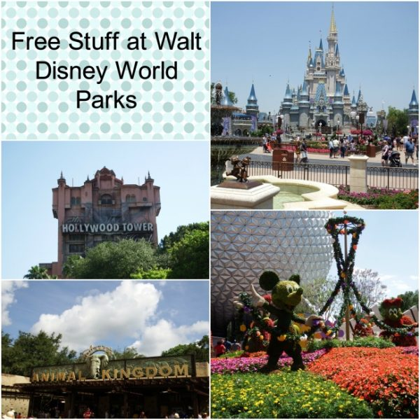 Free Stuff at Walt Disney World Parks