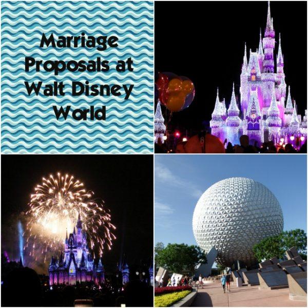 Marriage Proposals at Walt Disney World