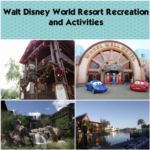Walt Disney World Resort Recreation and Activities