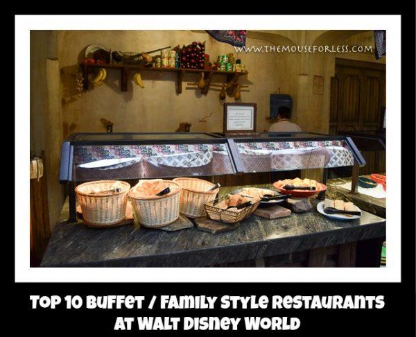Top 10 Buffet / Family Style Restaurants