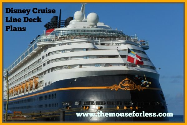 Disney Dream/Fantasy Deck Plan - Deck 10