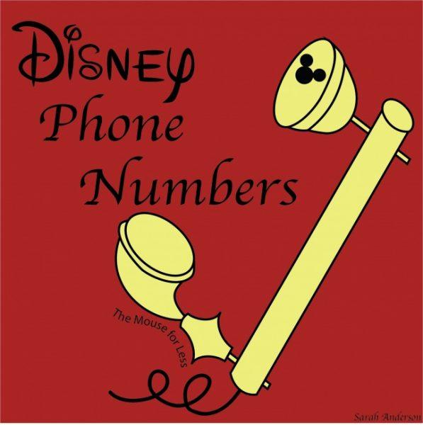 Disney World Phone Numbers