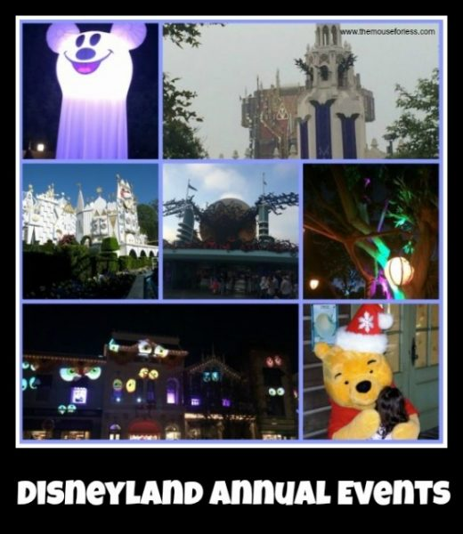 Disneyland Events
