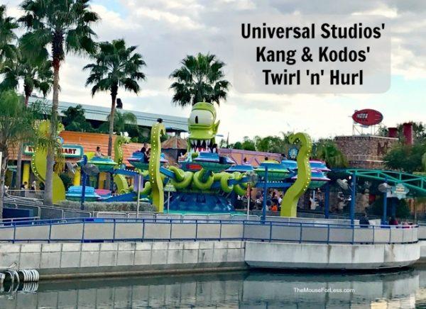 Kang & Kodos' Twirl 'n' Hurl | Universal Orlando Resort