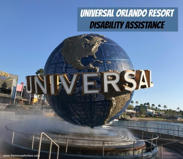 Disability Assistance at Universal Orlando Resort