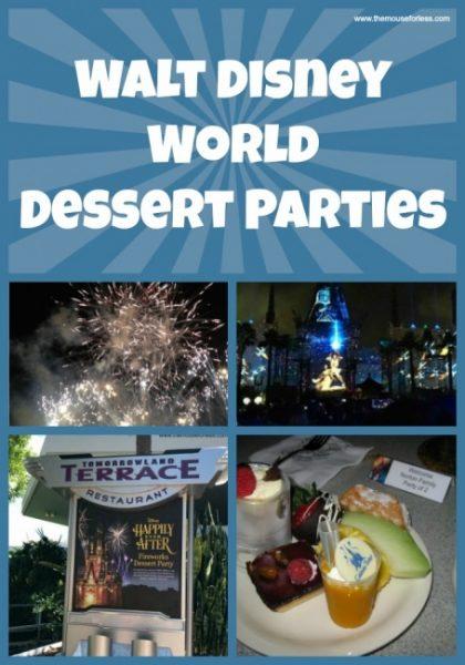 All About the Walt Disney World Dessert Parties