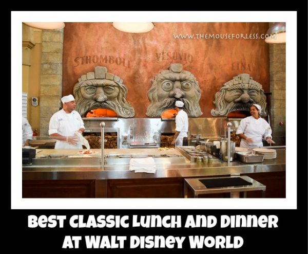 Best Traditional Lunch and Dinner at Walt Disney World