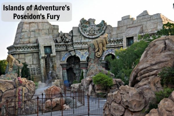 Poseidon's Fury at Islands of Adventure