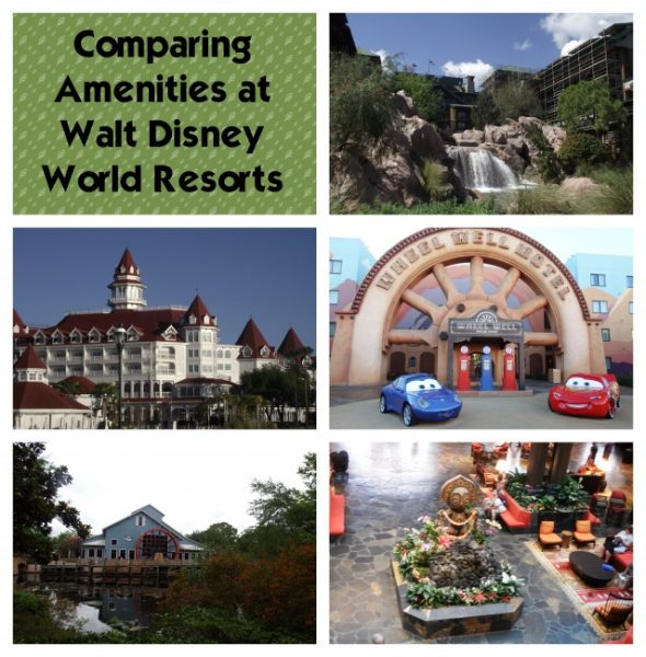 Comparing Amenities at Disney Resorts