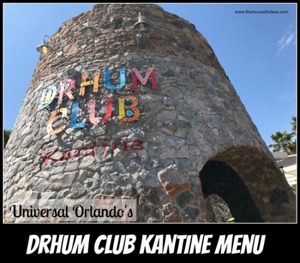 Drhum Club Kantine | Universal Orlando Resort