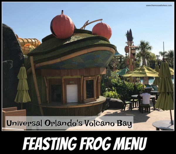 Feasting Frog | Universal's Volcano Bay