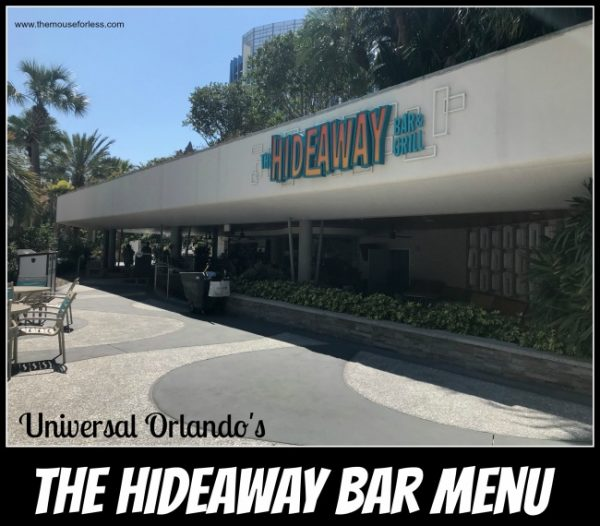 Hideaway Bar & Grill | Cabana Bay Resort