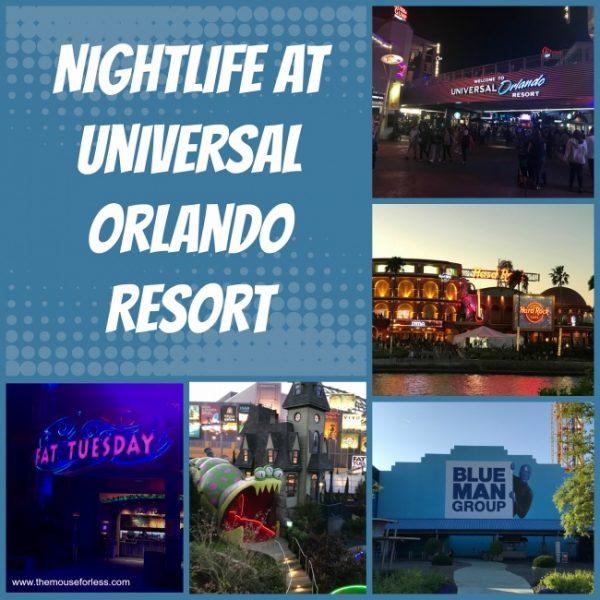 Nightlife at Universal Orlando Resort