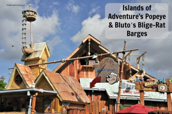 Popeye & Bluto's Bilge-Rat Barges | Universal's Islands of Adventure