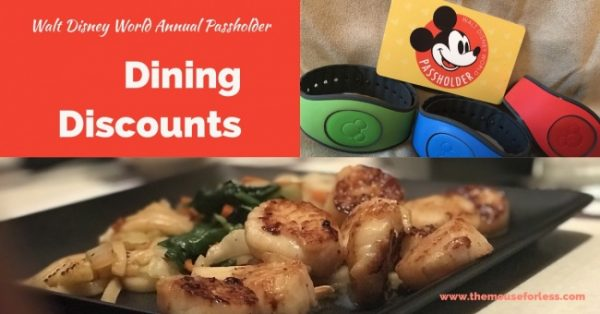 Annual Passholder Dining Discounts