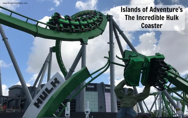 The Incredible Hulk Coaster Islands Of Adventure