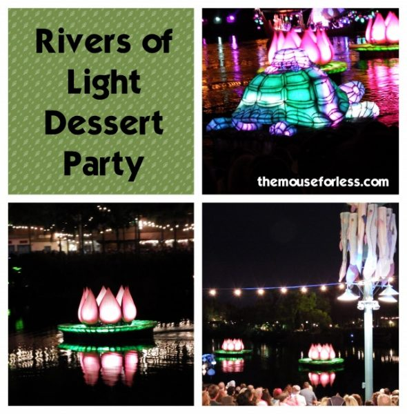 Rivers of Light Dessert Party