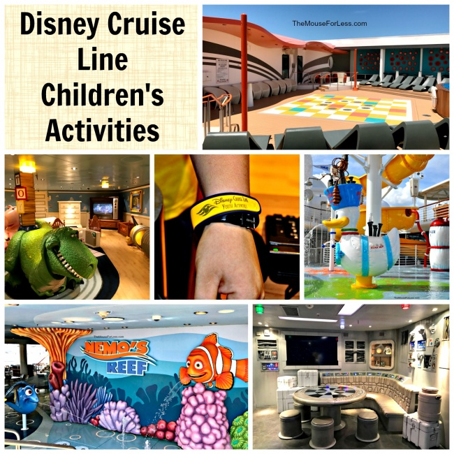 children's activities on Disney Cruise Line