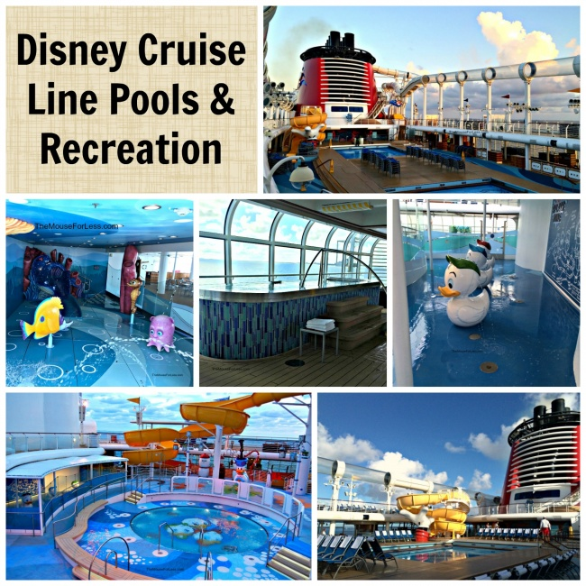 Pools & Recreation | Disney Cruise Line