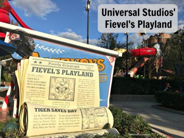 Fievel's Playland | Universal Studios Florida