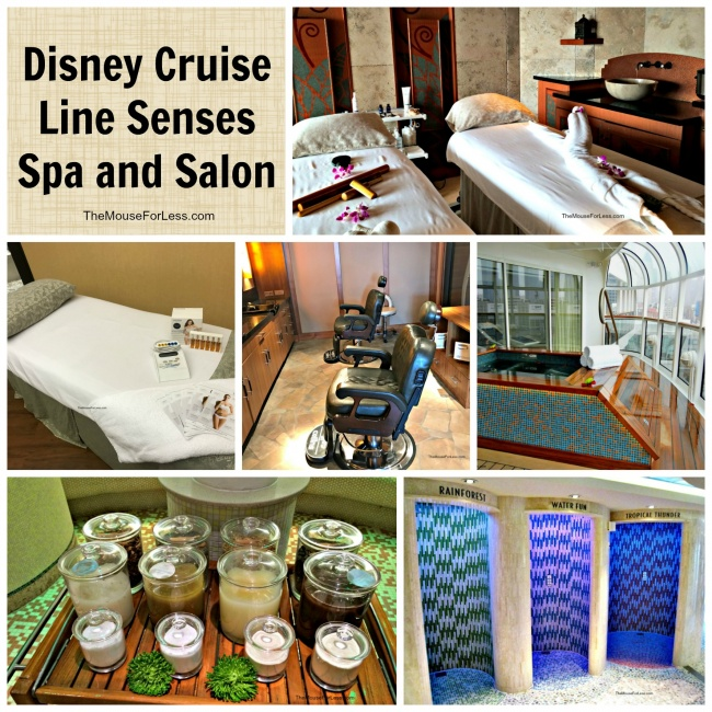 Disney Cruise Line Spa Treatments