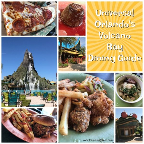 Volcano Bay Dining Guide
