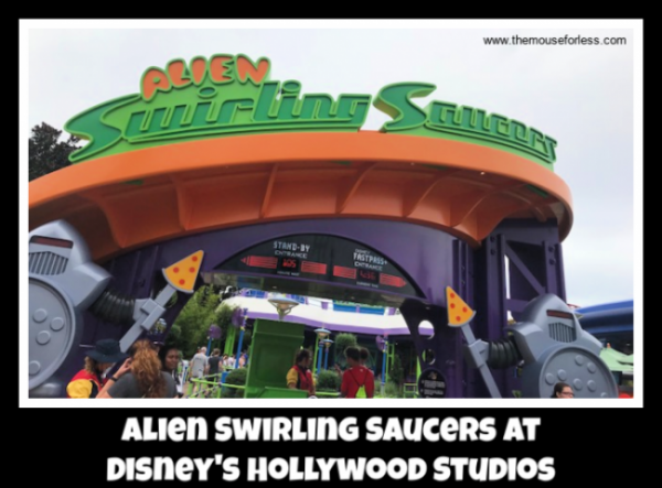 Alien Swirling Saucers at Disney's Hollywood Studios | Toy Story Land