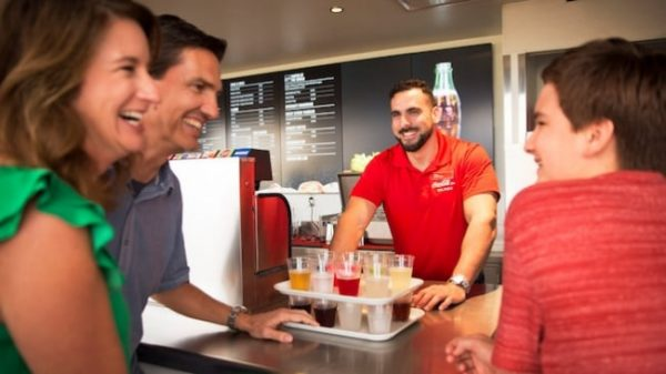 Coca-Cola Store Rooftop Beverage Bar