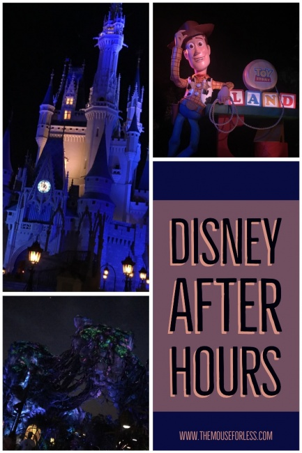 Disney After Hours Event Dates Added For Spring and Summer