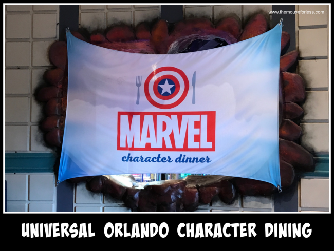 Universal Orlando Character Dining