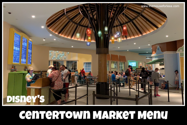 Centertown Market Menu