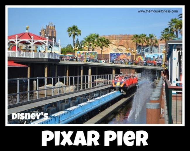 Pixar Pier Guide