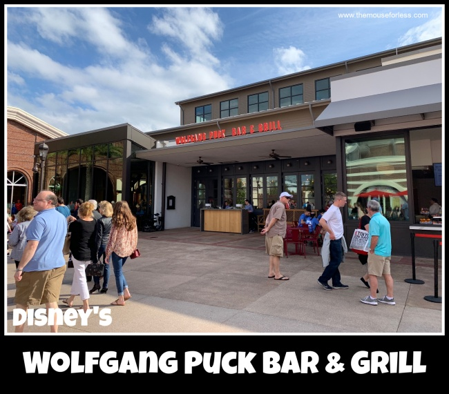 Wolfgang Puck Bar & Grill Menu