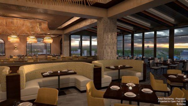 Disney's Riviera Resort Restaurants