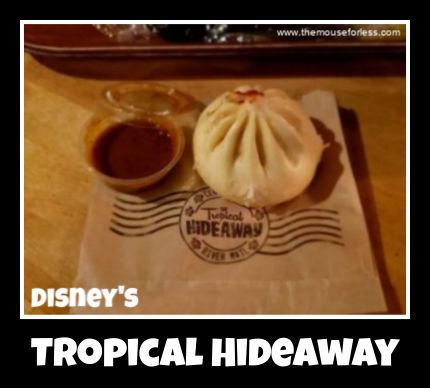 Tropical Hideaway Menu