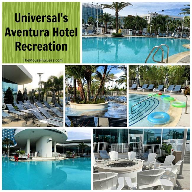 Universal's Aventura Hotel Recreation