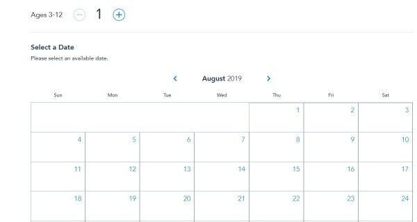 Bibbidi Bobbidi Boutique Date Select