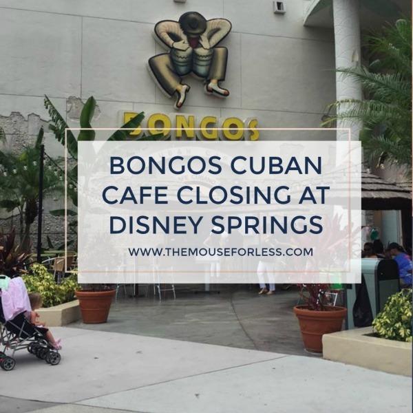 Bongos Cuban Restaurant Will Close Summer 2019