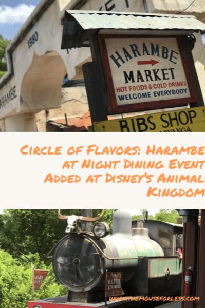 Circle of Flavors: Harambe at Night