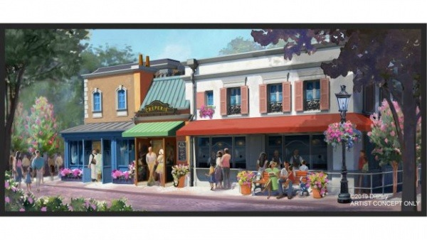 Crêperie Coming to Epcot's France Pavilion