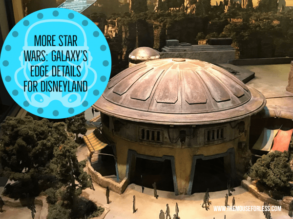 More Star Wars: Galaxy's Edge Details for Disneyland