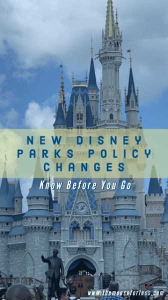 Walt Disney World and Disneyland Introduce New Policy Changes