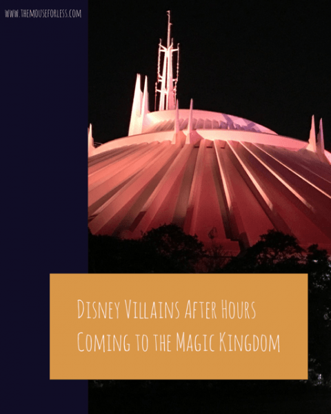 Disney Villains After Hours Coming to the Magic Kingdom