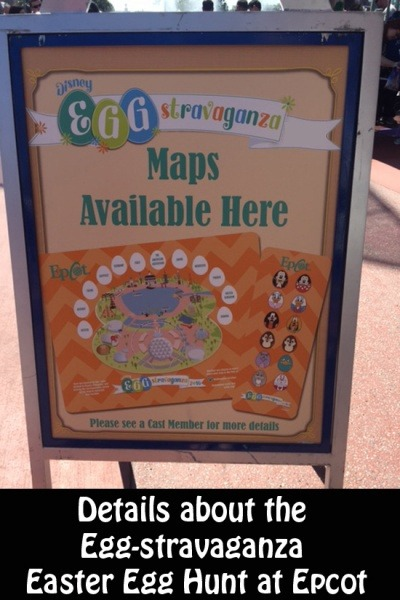 Egg-Stravaganza Easter Egg Hunt at Epcot