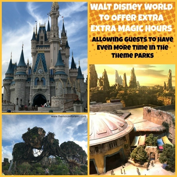 Extra, Extra Magic Hours at Walt Disney World Resort