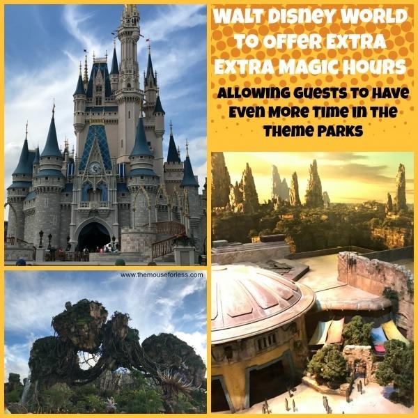 Extra, Extra Magic Hours at Walt Disney World Resort