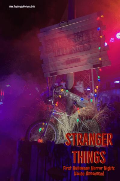 Halloween Horror Nights 2019 Poster.Stranger Things Announced As First Halloween Horror Nights