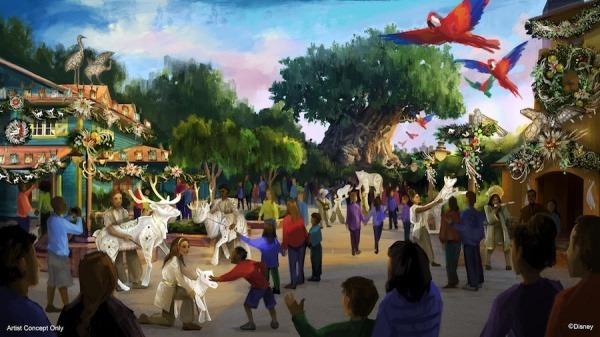 New Holiday Festivities Introduced for Disney's Animal Kingdom